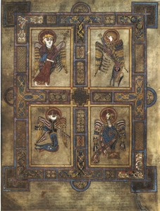 The four worldviews in the book of kells