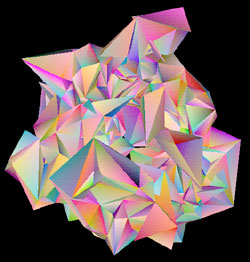 Quantum Foam made out of triangles