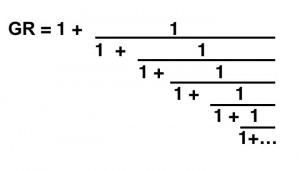 continued fraction golden mean