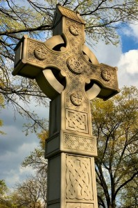 The Celtic Cross with the Four Forces and the Center, The Void, in the Middle.