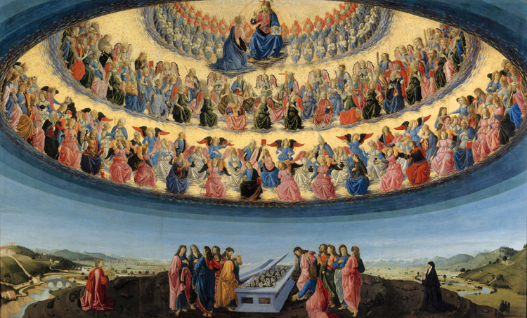 The The Three Levels and the Nine Hierarchies of Angels