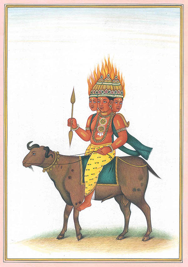 Agni, the God of Fire
