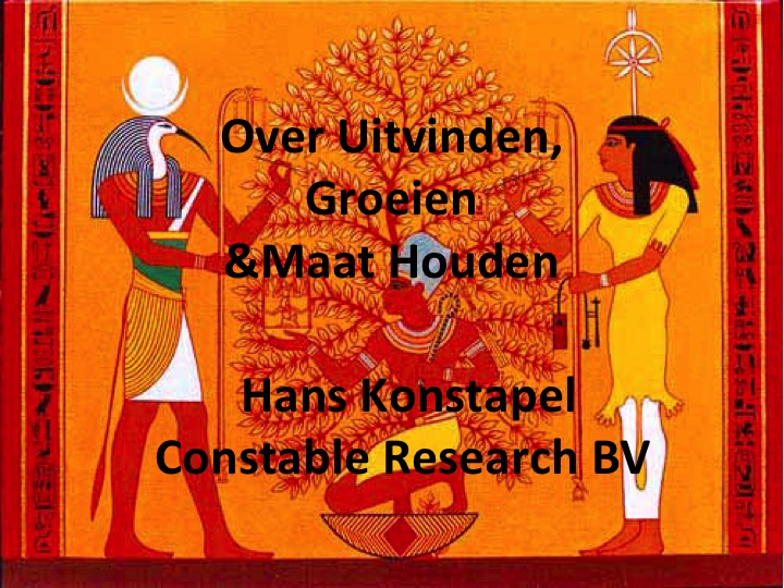 Citaten Cursief : Completed « constable research b v